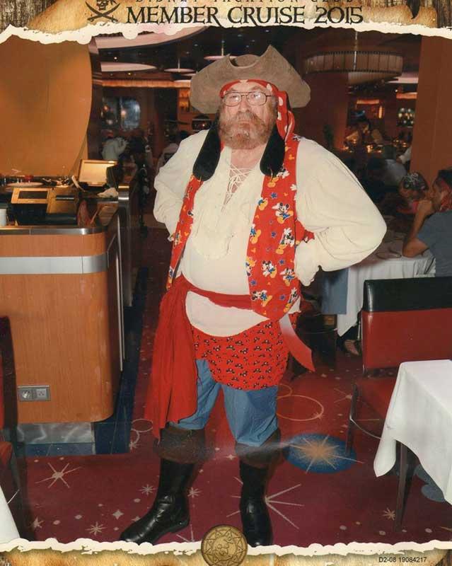 Customer photos wearing Pirates at Sea