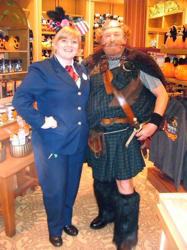 Customer photos wearing Brave Scottish Warrior