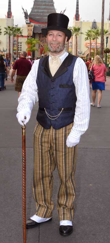 Customer photos wearing Never too Dapper for Disney!