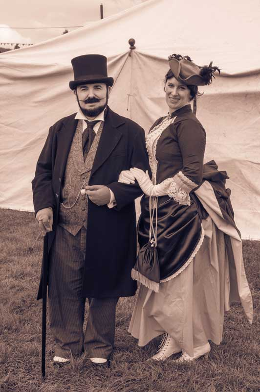 Customer photos wearing Masters of Victorian Elegance