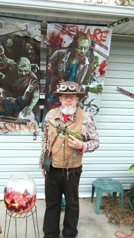 Customer photos wearing Zombie Hunter