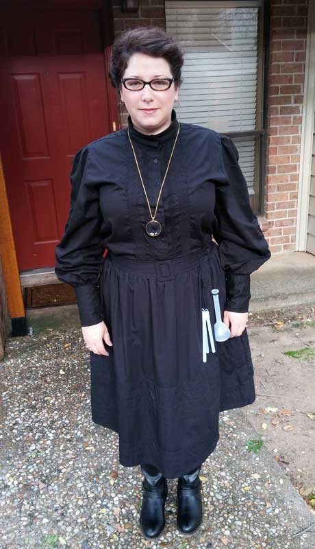 Customer photos wearing [Editors Pick] Madame Curie I Presume