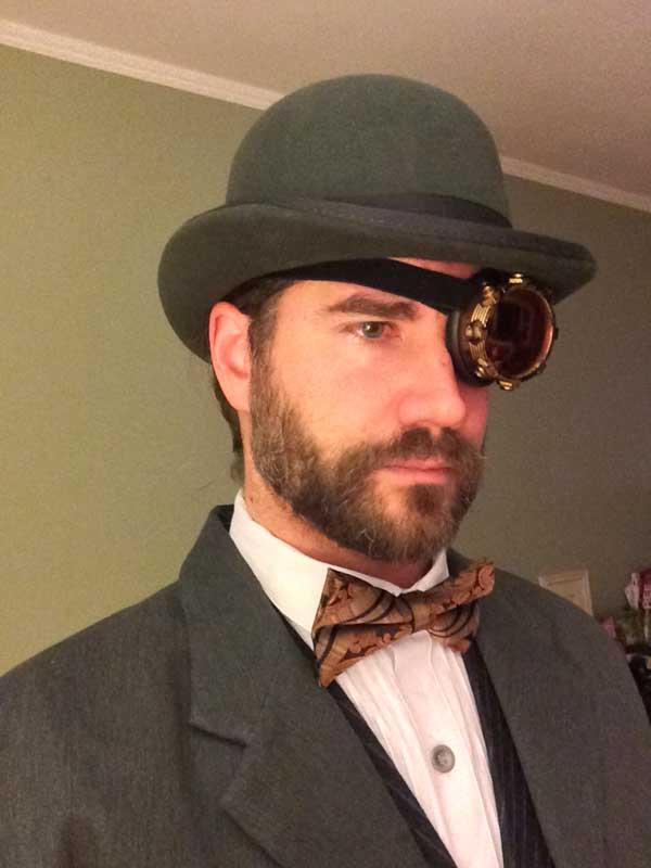 Customer photos wearing [Editors Pick] Steampunk Flair