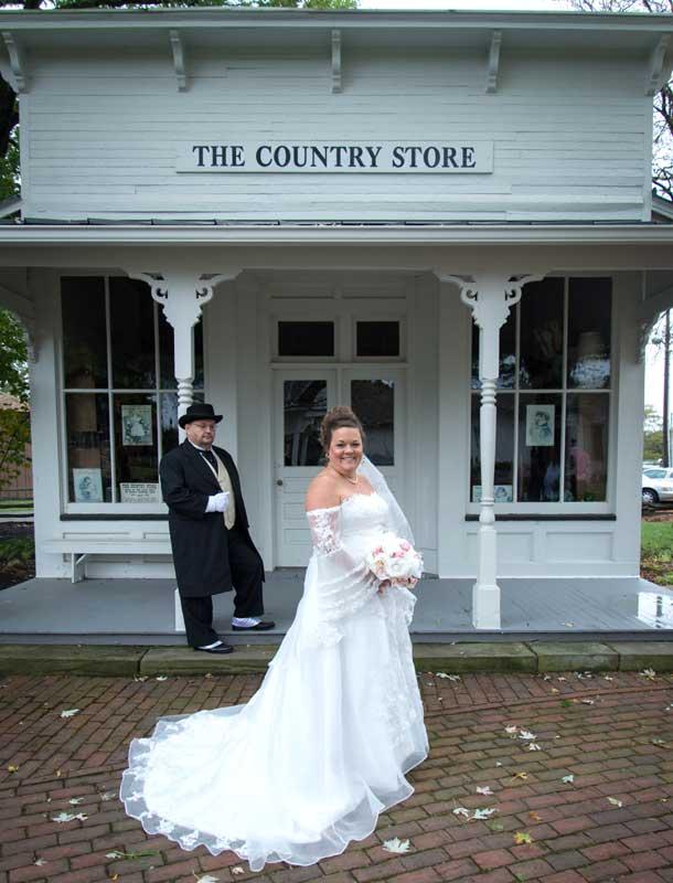 Customer photos wearing Country Wedding