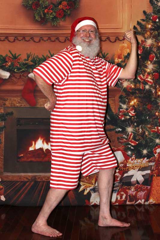 Customer photos wearing [Editors Pick] Santa Plunge