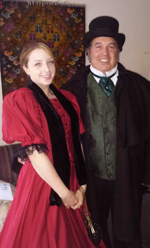 Customer photos wearing Ready for the Faire!