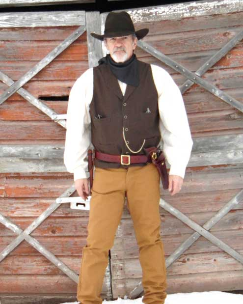 Customer photos wearing Cowboys Don't Get Cold