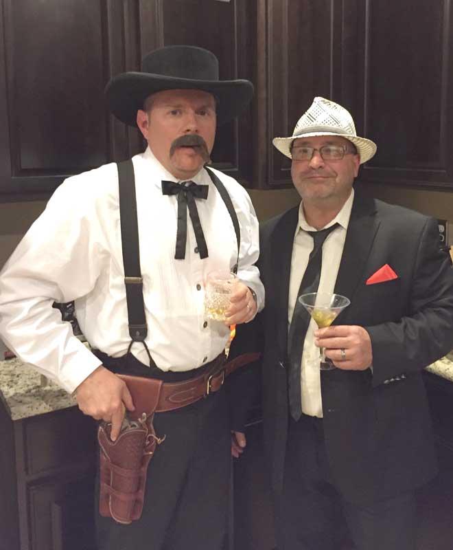 Customer photos wearing Cowboy Up!