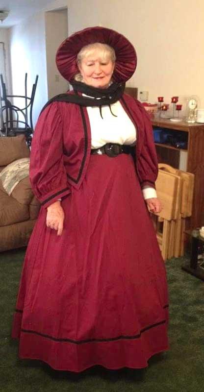 Customer photos wearing Wedding Bonnet