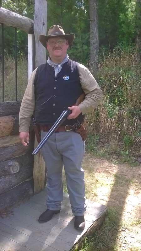 Customer photos wearing Sharpshooter Jack