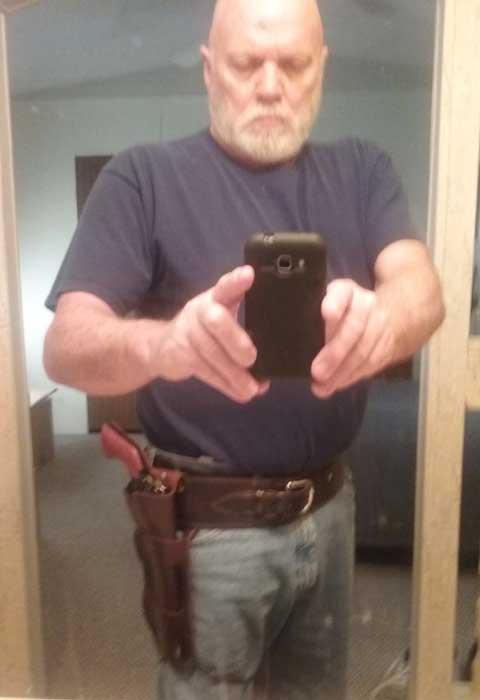 Customer photos wearing Brand New Belt