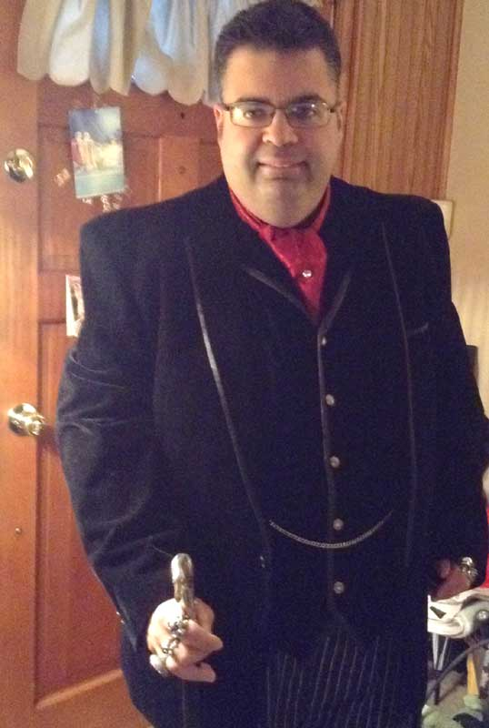 Customer photos wearing Ready for a Night on the Town!