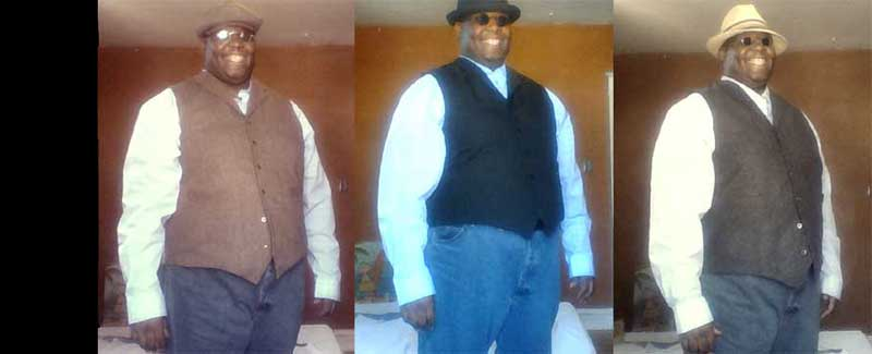 Customer photos wearing Vest A Day!