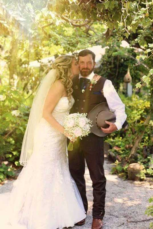 Customer photos wearing [Editors Pick] Cowboy Weddings