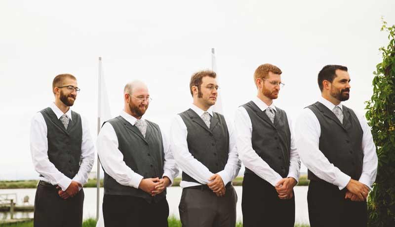 Customer photos wearing Fantastic Groomsmen