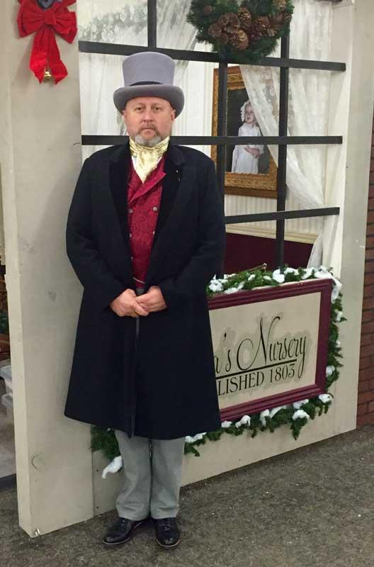 Customer photos wearing Dickens Fair Master