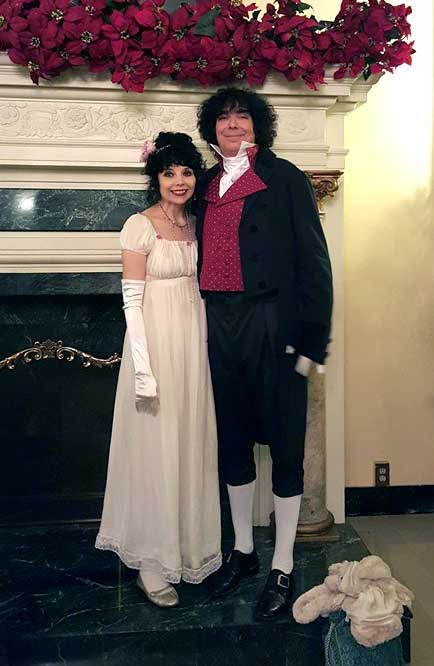 Customer photos wearing An Evening of Pride and Prejudice