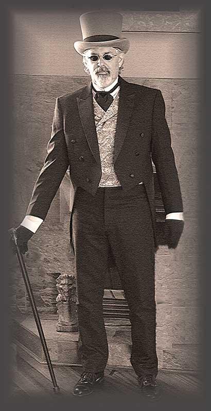Customer photos wearing Tintype Gentleman