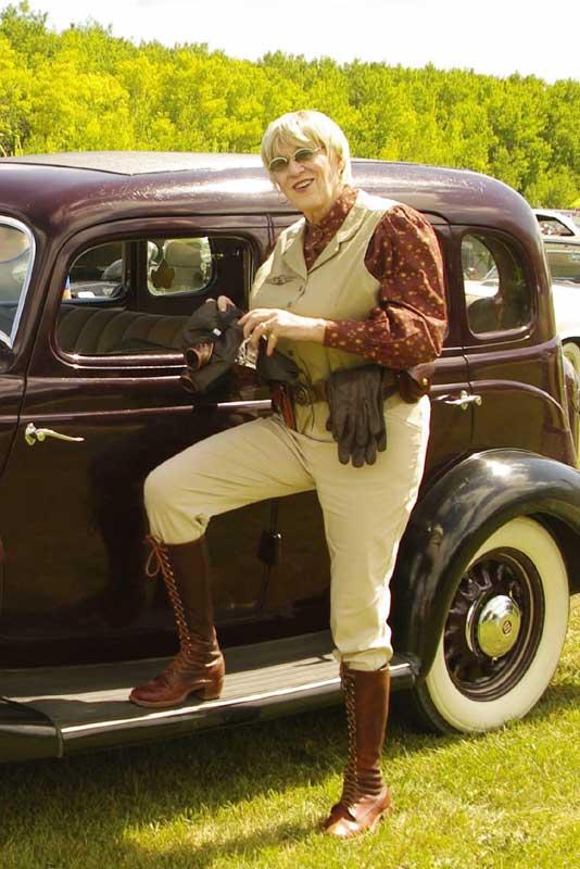 Customer photos wearing [Editors Pick] Motoring Fashion