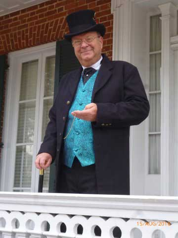 Customer photos wearing Historic Homes Tour