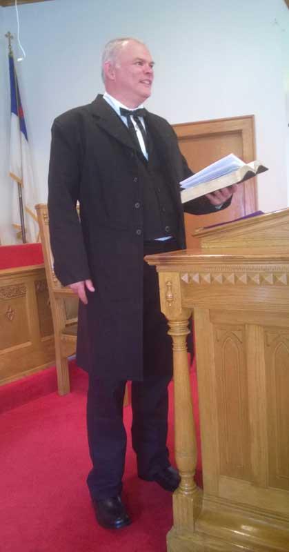 Customer photos wearing Historic Preacher