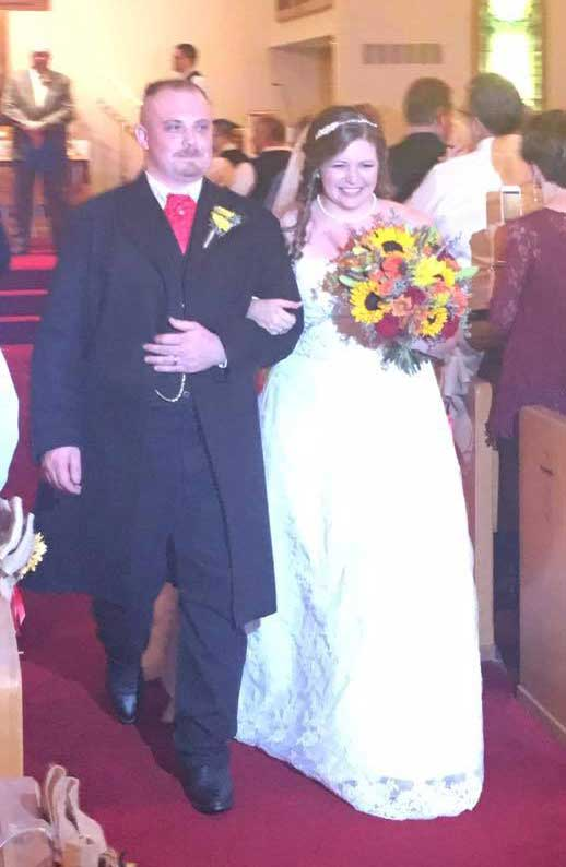 Customer photos wearing Perfect Wedding Apparel