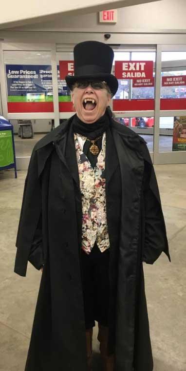 Customer photos wearing Even Vampires have Jobs