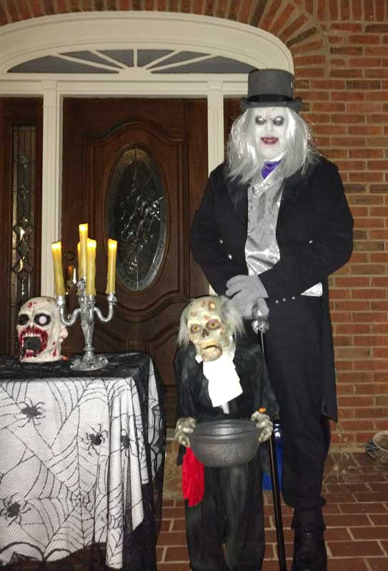Customer photos wearing Come for a Treat and a Scare!