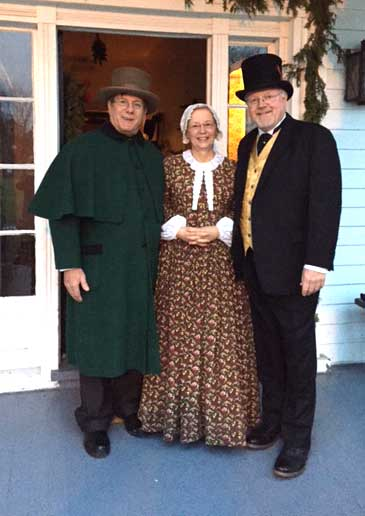 Customer photos wearing 200 Year Old Trading Post