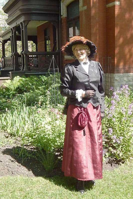 Customer photos wearing Bountiful Gardens