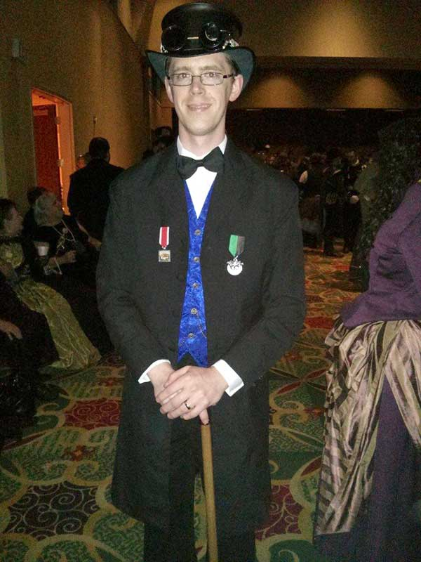 Customer photos wearing Steampunk Conventions at its Best!