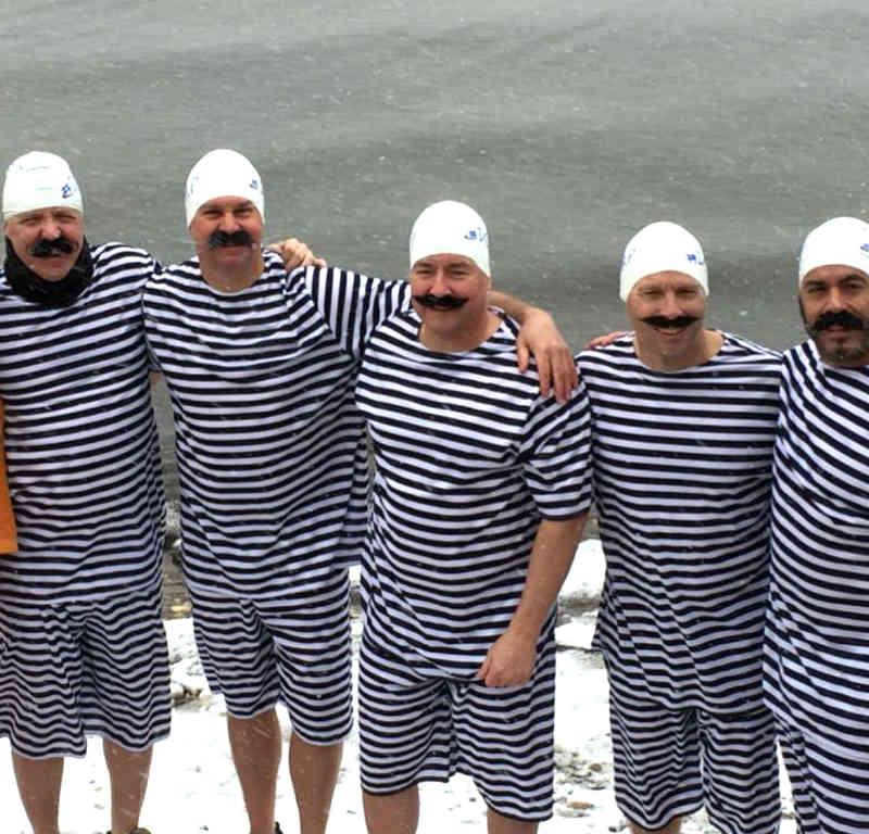Customer photos wearing [Editors Pick] Polar Plunge