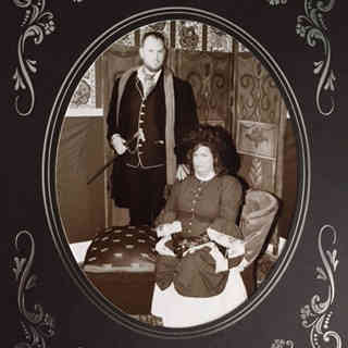Customer photos wearing A Dickens Couple is a Happy Couple