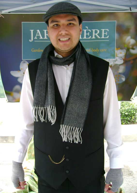 Customer photos wearing Dickens Merchant