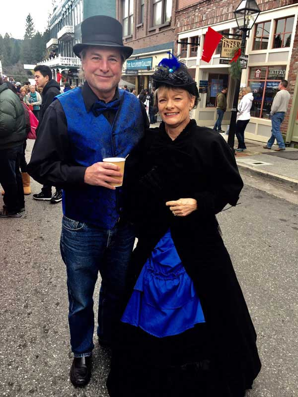 Customer photos wearing Historic Dress, Historic Town