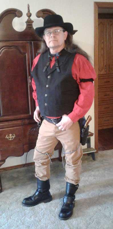 Customer photos wearing [Editors Pick] Luck Be A Cowboy
