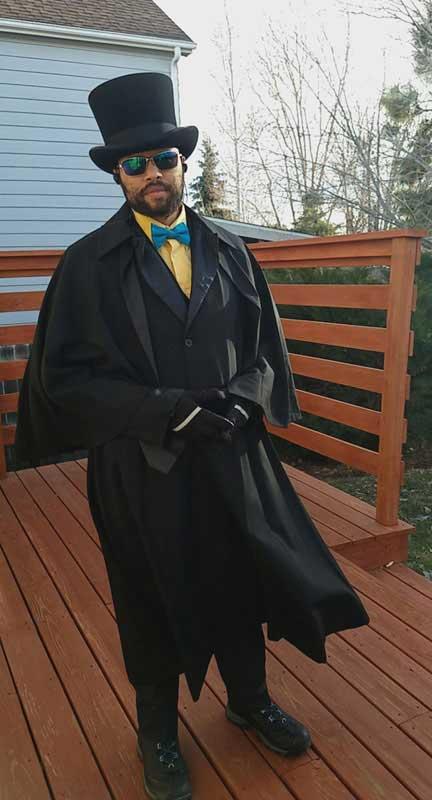 Customer photos wearing Uniform of a Knight