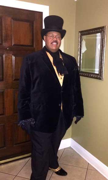 Customer photos wearing Creole History