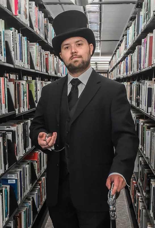 Customer photos wearing [Editors Pick] Gentleman Librarian