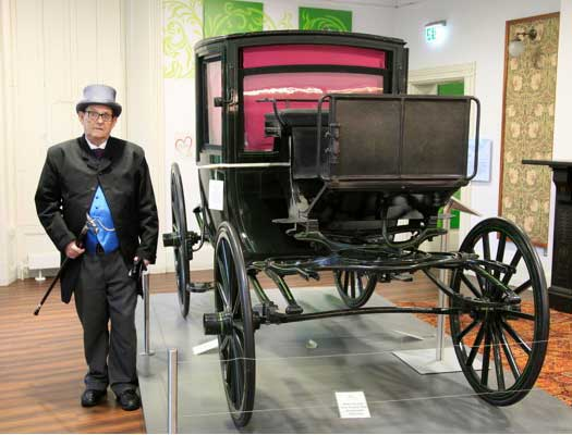 Customer photos wearing Carriage History Museum