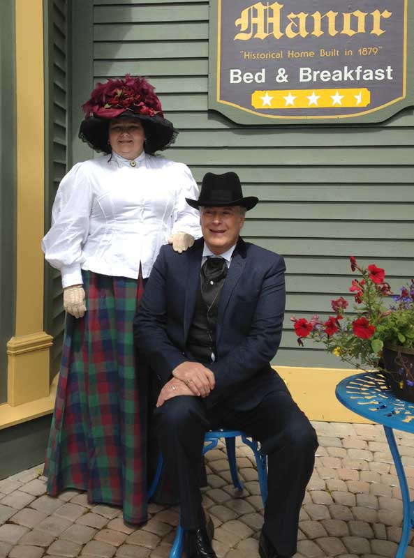 Customer photos wearing [Editors Pick] Victorian's for a Cause