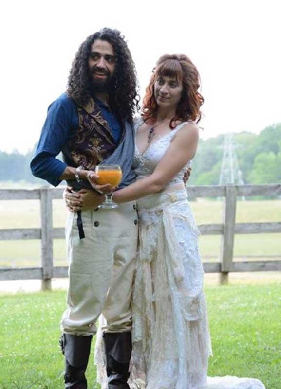 Customer photos wearing A Pirate Wedding!