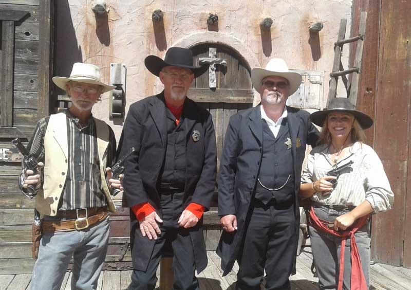 Customer photos wearing Lawmen on Duty