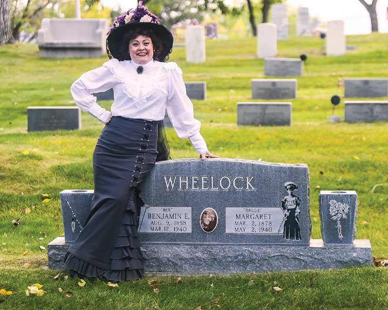 Customer photos wearing Madame Wheelock