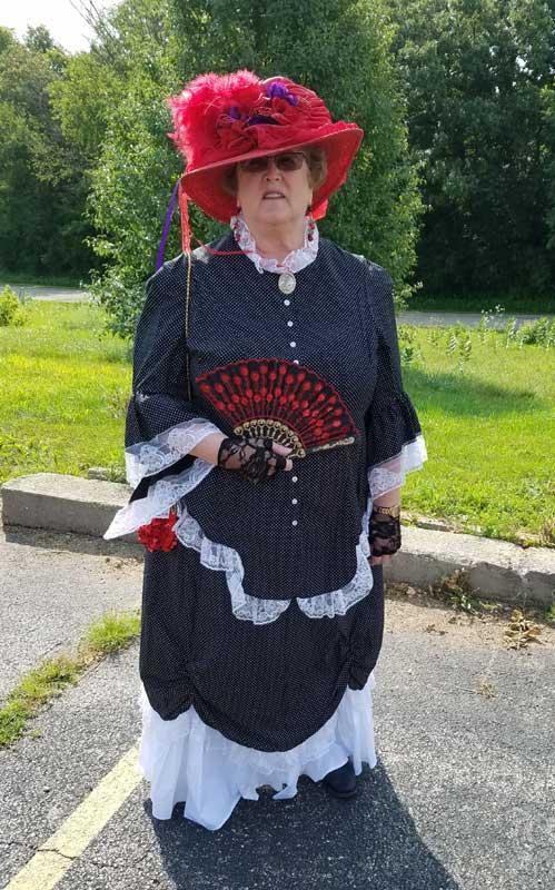 Customer photos wearing A Long History; Long Parade