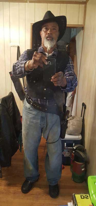 Customer photos wearing Western Selfie
