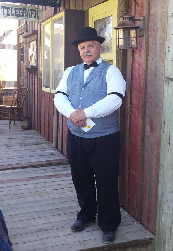 Customer photos wearing Lawmen of the West
