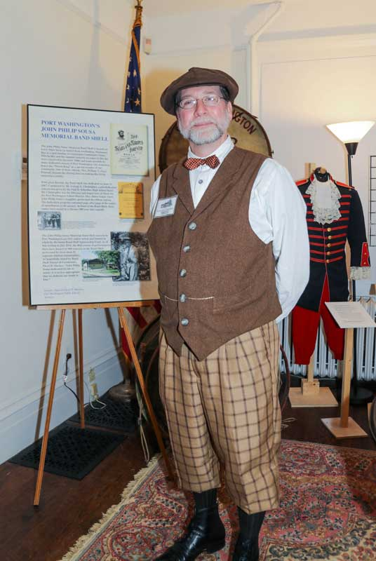 Customer photos wearing Cow Neck Peninsula Historical Society