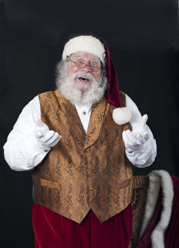 Customer photos wearing [Editors Pick] A Happy Santa Brings Joy to All