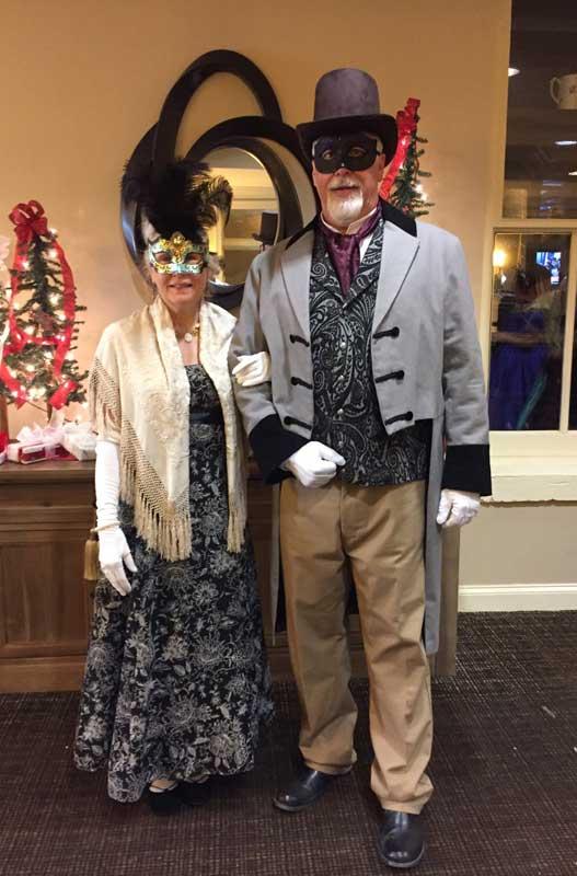 Customer photos wearing Gettysburg Masquerade